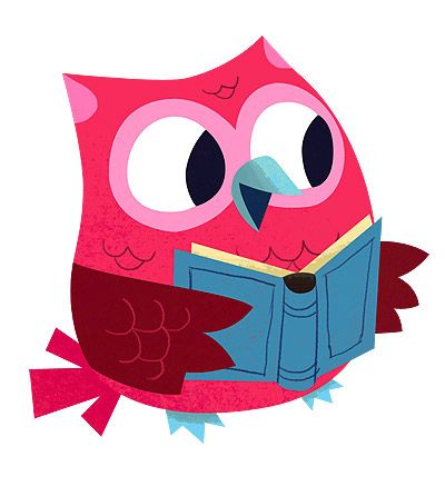 140 best clip art books reading images on pinterest reading rh pinterest com Cute Reading Owl Reading Books
