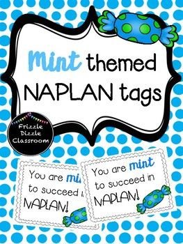 In Term 2 Australian students undergo a nation-wide test for grades 3, 5, 7, & 9 called NAPLAN. These small tags are perfect to give to students along with a little treat to congratulate them on their hard work thus far or for encouragement. These can be used for NAPLAN test or any other test.