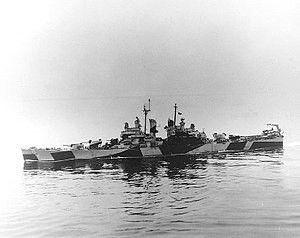 USS Passdena (CL-65) Cleveland-class light cruisers.