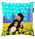 Buy DDLJ Digital Printed Square Cushion Pillow by Orka  Online: Shop from wide range of Bean Bags Online in India at best prices. ✔Free Shipping✔Easy EMI✔Easy Returns