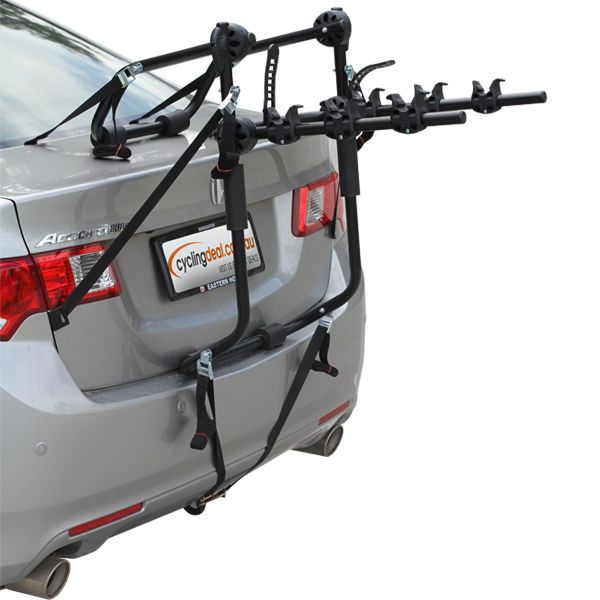 3 BIKE CAR CARRIER RACK BICYCLE REAR RACKS strong #CyclingDeal