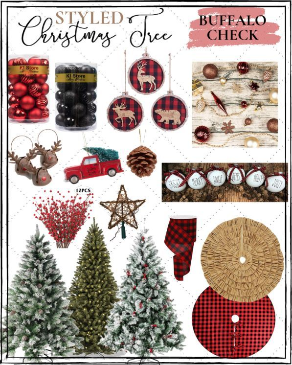 Affordable Christmas Tree Decor Ideas Christmas Tree Inspiration Christmas Tree Themes Affordable Christmas Decorations