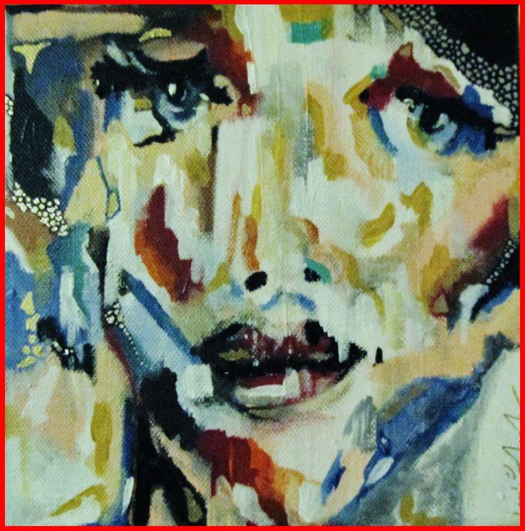 Velocity of Love.  . Mixed Media on Canvas. . By Hesham Malik. .