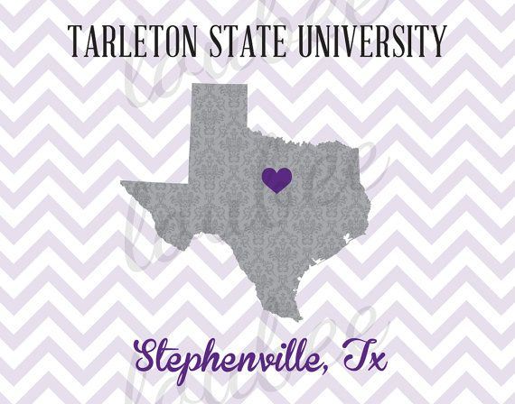 Tarleton State University Stephenville TX by LoubeeDesigns