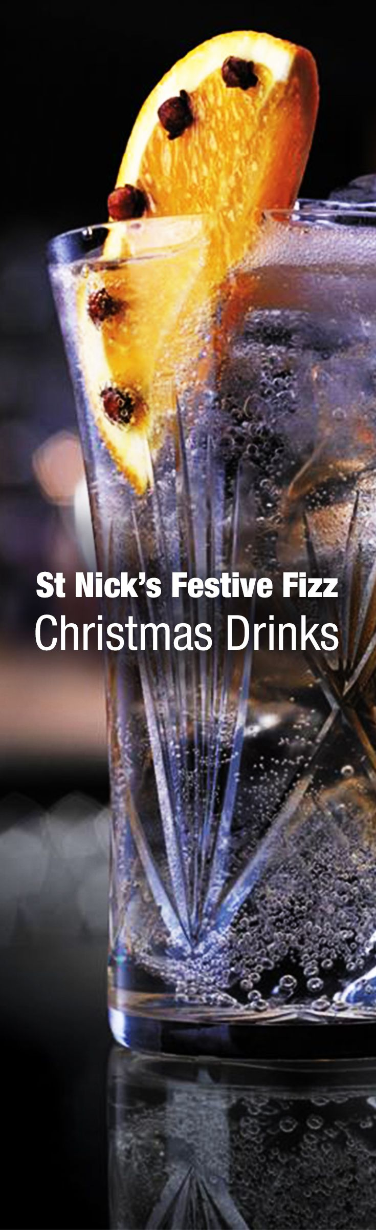 Bring a great present to the party with your St. Nick's Festive Fizz. This combination of Johnnie Walker Red Label and Schweppes Elderflower Tonic will surprise those guests who think only soda or cola should be paired with whisky – it's one that's worth unveiling. #Christmas #ChristmasDrinks #ChristmasCocktails #CocktailRecipes #Cocktails #Whisky