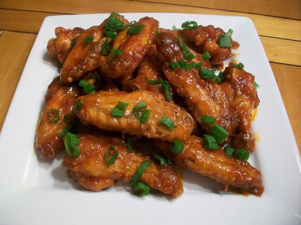 Spicy Asian Sesame Chicken Wings
