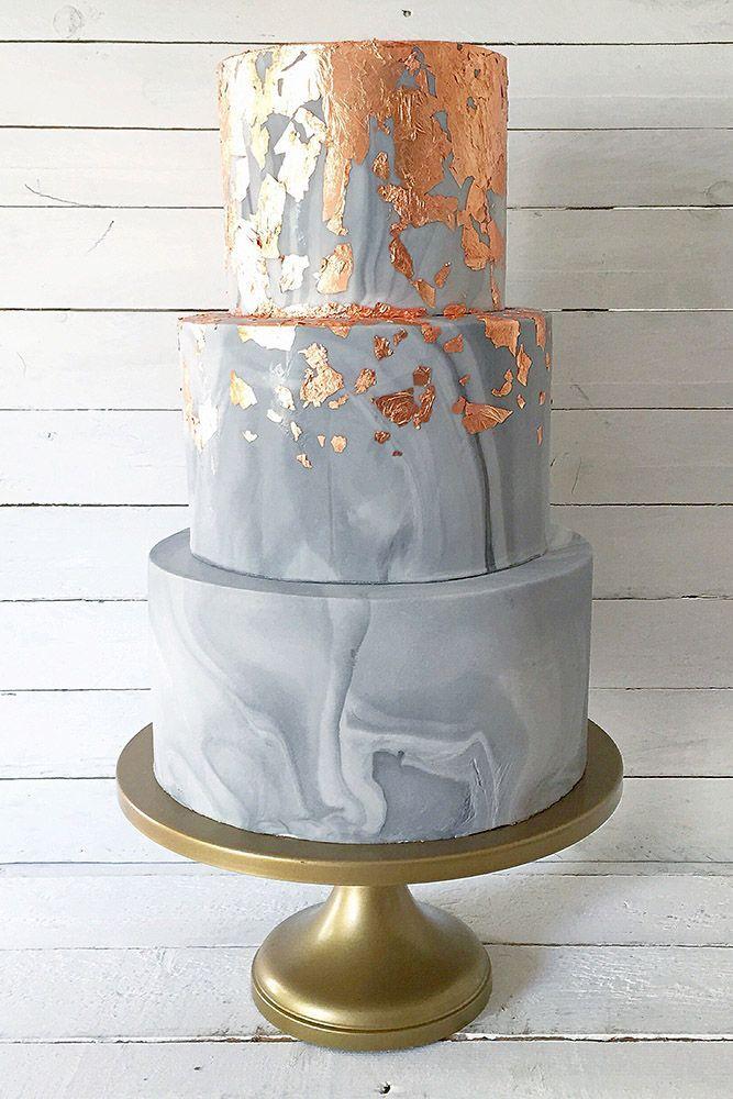 Abgesehen davon, dass die Hochzeitstorten aus Marmor wunderschön und luxuriös sind, …   – Torten