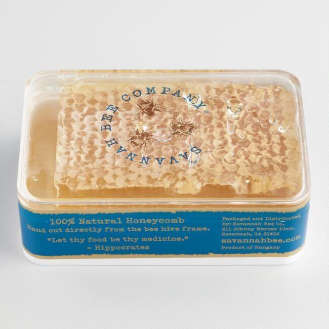 Savannah Bee Company Raw Acacia Honeycomb - v1