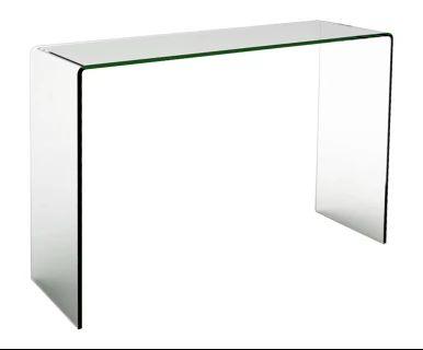 Console, verre - L110
