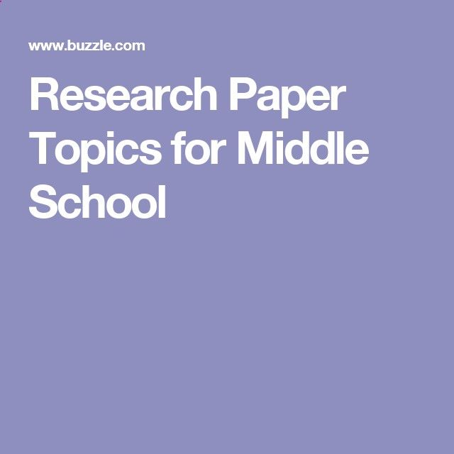steps to writing a research paper for middle school Middle school students are in the unique position of transitioning from writing simple, elementary-level pieces to fully developed essays that said, the research paper is the most complex form of academic writing, and you'll need to walk them through the entire writing process.