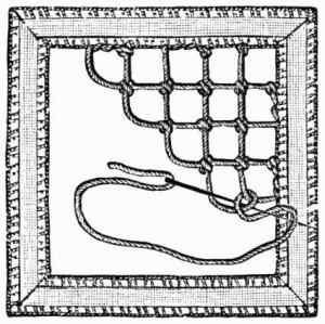Project Gutenberg eBook from 1891 on The Art of Modern Lace Making: http://www.gutenberg.org/files/22325/22325-h/22325-h.htm#Lace-Making