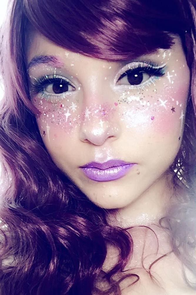 Best 25+ Galaxy makeup ideas on Pinterest | Crazy makeup, Costume ...