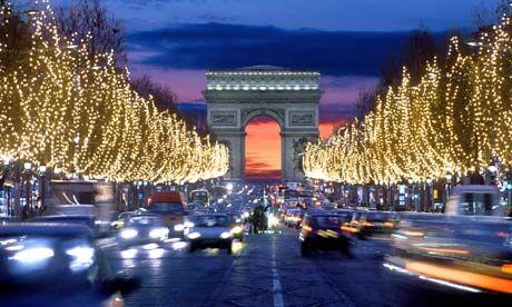 Paris, FranceFavorite Places, Dreams, Travel Photos, Arc De Triomphe, Champs Elysees, Paris France, Christmas, France Paris, Champs Élysées