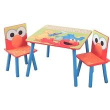 "Sesame Street Table & Chairs - Delta Enterprises - Toys""R""Us"