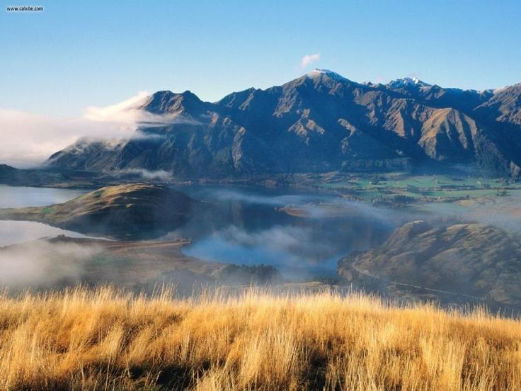 Roys Peak Otago New Zealand