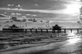 Fishing Pier Fort Myers Beach at Sunset - Florida Papier Photo par Philippe Hugonnard