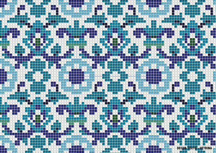 M+ MOOD - MAIOLICA EFFECT -VIBRAZIONI MEDITERRANEE Decor 10x10 Collection #mosaicopiu #decoration #maiolica #glassmosaic #mosaic