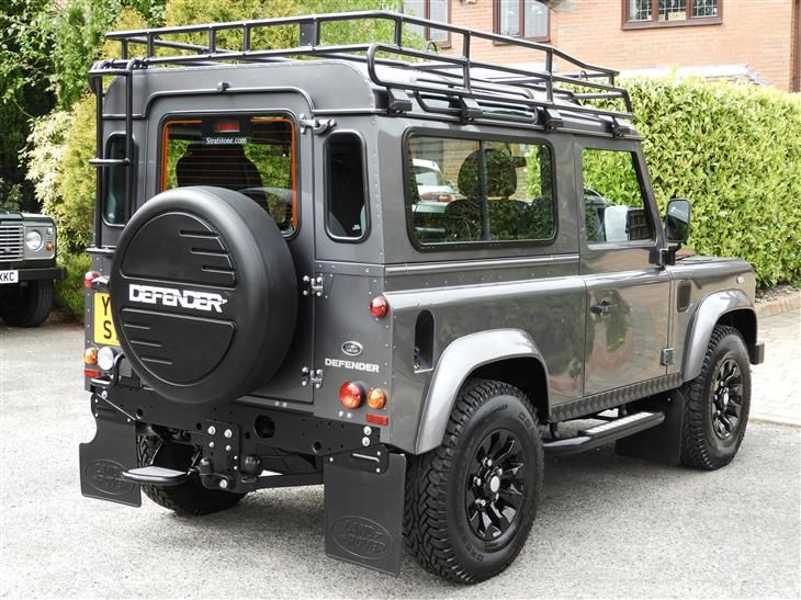 Used 2016 Land Rover Defender TD XS STATION WAGON for sale in Cheshire from j a 4x4 of cheshire.