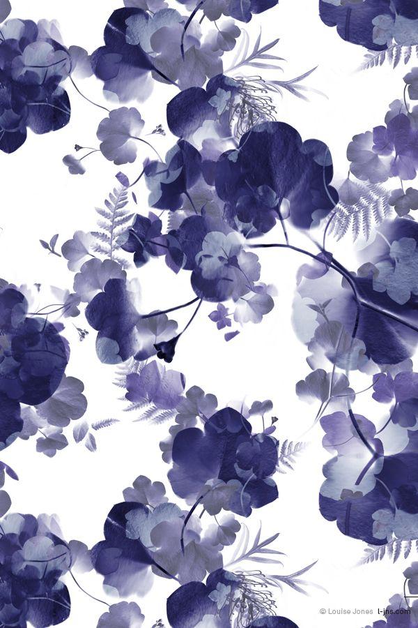 Blue | Blau | Bleu | Azul | Blå | Azul | 蓝色 | Indigo | Sapphire | | Color | Form | Texture | NOV | Porcelain | Colourway 1 © Louise Jones