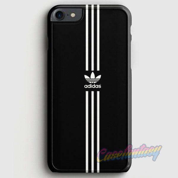 Adidas White Strip Logo iPhone 7 Case | casefantasy