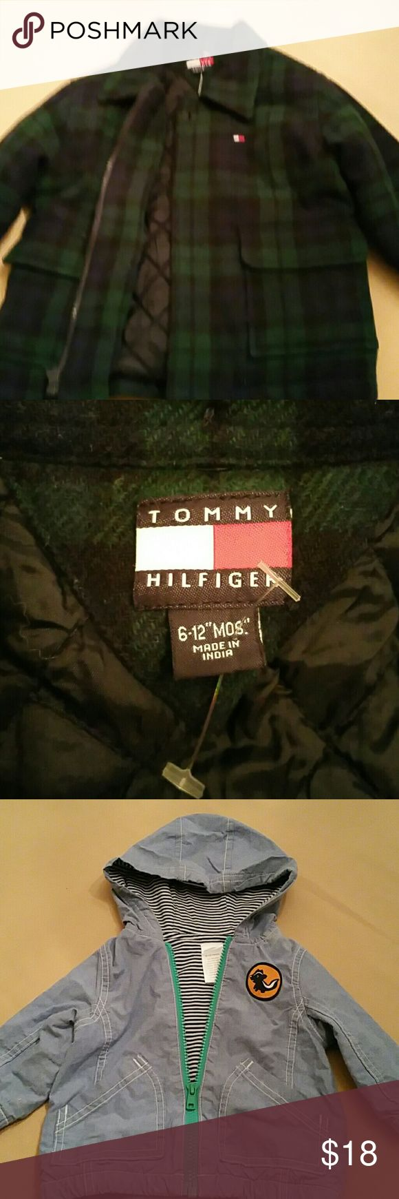 1 Tommy Hilfiger Coat 1 Gym bored Jacket and Shirt What you get. ..  1- Tommy Hilfiger Pea Coat   1- Gymboree Jacket  1 Gymboree Hooded Long Sleeve Shirt Tommy Hilfiger  Jackets & Coats Pea Coats