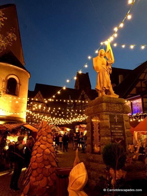 Noël en Alsace - Marché de Noël d'Eguisheim - Carnet d'escapades