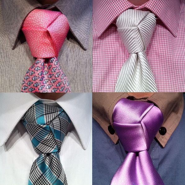 Le noeud de cravate Trinité © DR