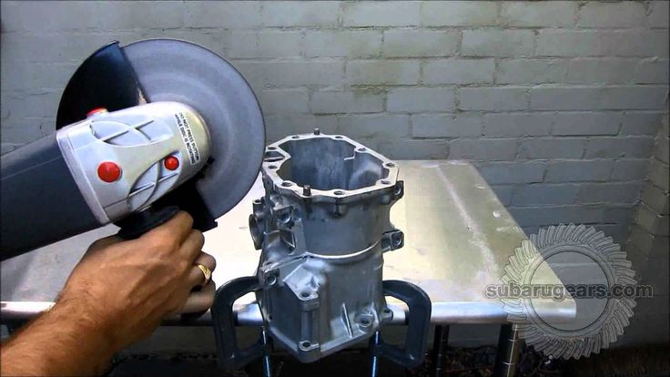 How to cut down the centre differential housing on a