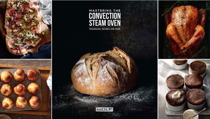 Download the free Wolf Convection Steam Oven Cookbook for tips, techniques and recipes! #reclaimthekitchen