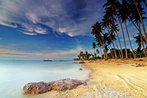 Pantai Takisung, south kalimantan, Indonesia