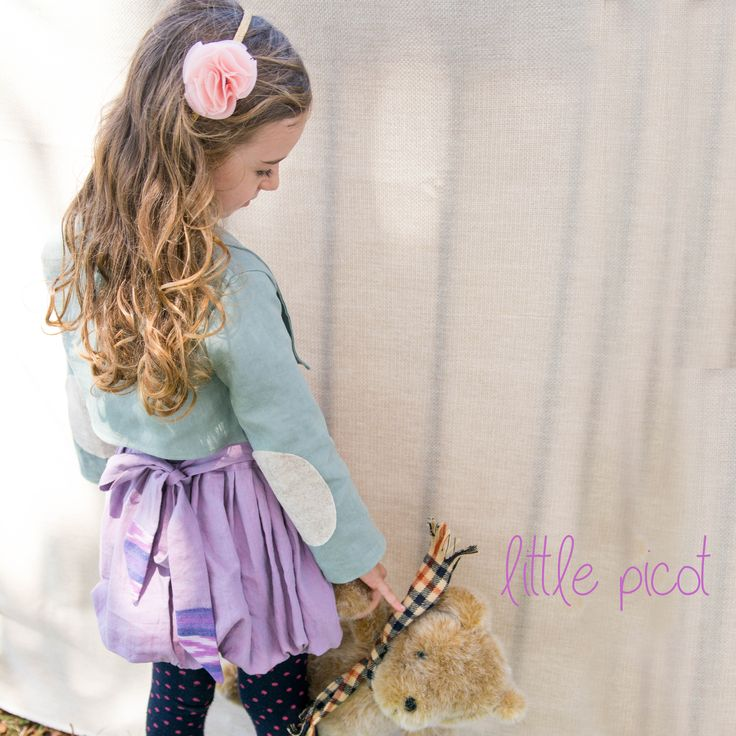 little picot A/W 15 - The Albertina Blazer & Manuella Bubble Skirt!  Whimsical Eco-Friendly Clothing for little Girls. Handmade in Australia!