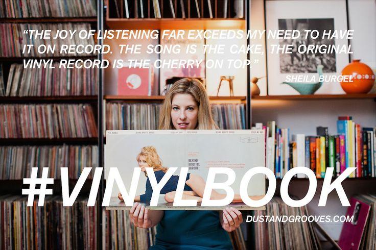 Vinyl Quotes: Sheila Burgel
