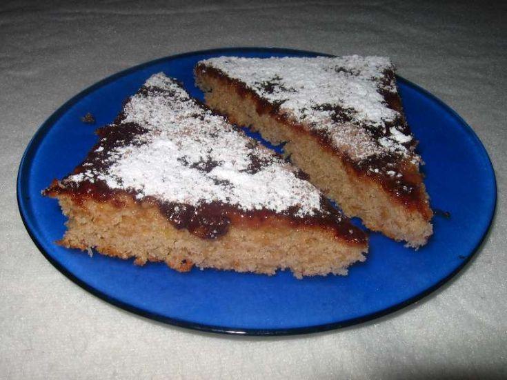 Šťavnatý jablkový koláč
