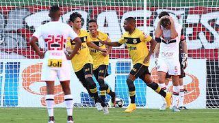 Blog Esportivo do Suíço: Campeonato Paulista 2016 - 8ª Rodada: São Paulo joga mal e perde de virada para o São Bernardo