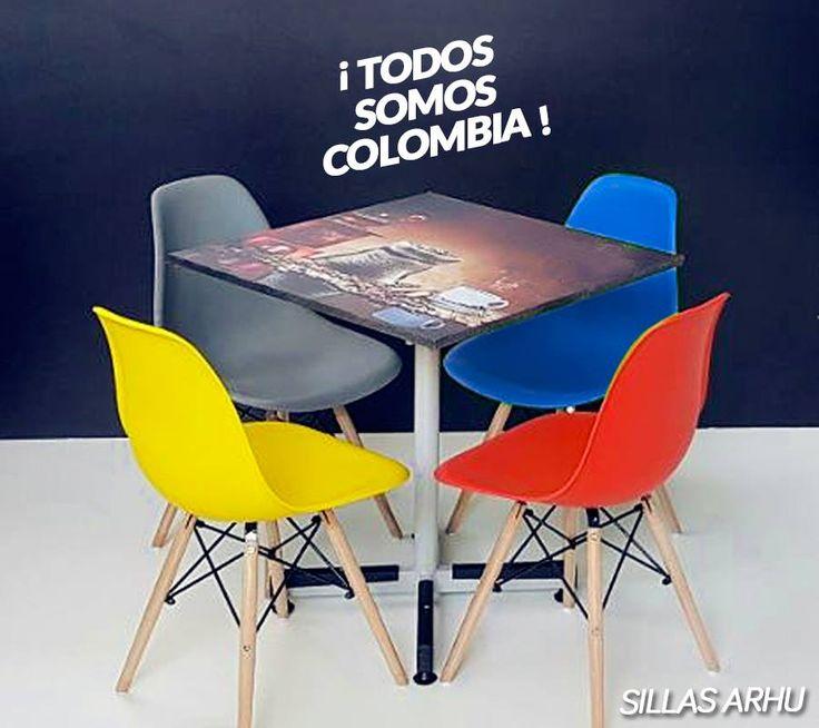 ¡Feliz 20 de julio! Metálicas Cruz 💛💙❤️ #Colombia