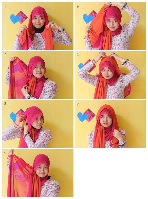 Hijab Tutorial Pictures 2013 CANDYUTHA TUTORIAL HIJAB 1