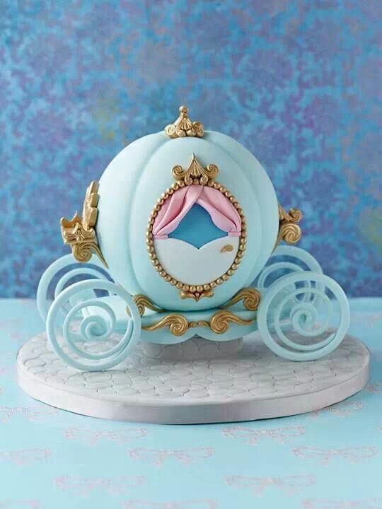 Cinderella cake beautifully done