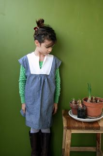 Vintage (1970s?) McCall's 5109. Smocking under front placket, could easily be changed to gathering.