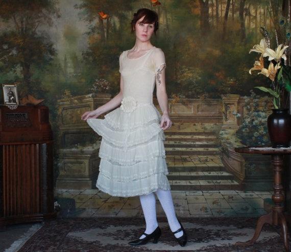 1900's wedding dress: 1900S Chiffon, Wedding Dressses, Wedding Dresses, Chiffon Wedding Gowns, Gowns 1900S