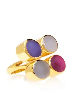 64% OFF Saachi Quad Agate Ring