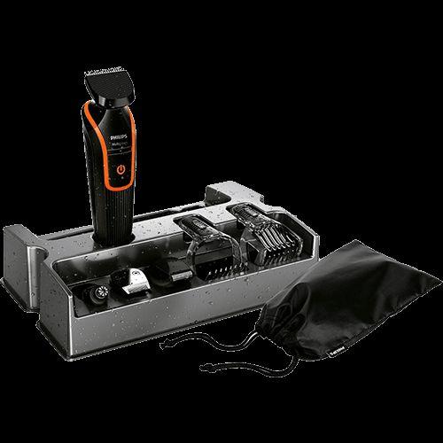 Aparador de Pelos Philips Multigroom QG3340/16 com Acessórios