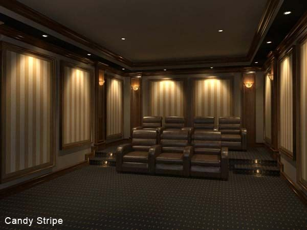 We Offer Beautiful Home Theater Acoustic Panels Featuring