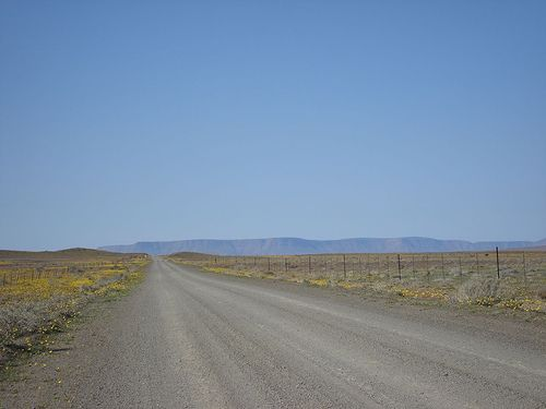 Tankwa Karoo, South Africa: a typical landscape