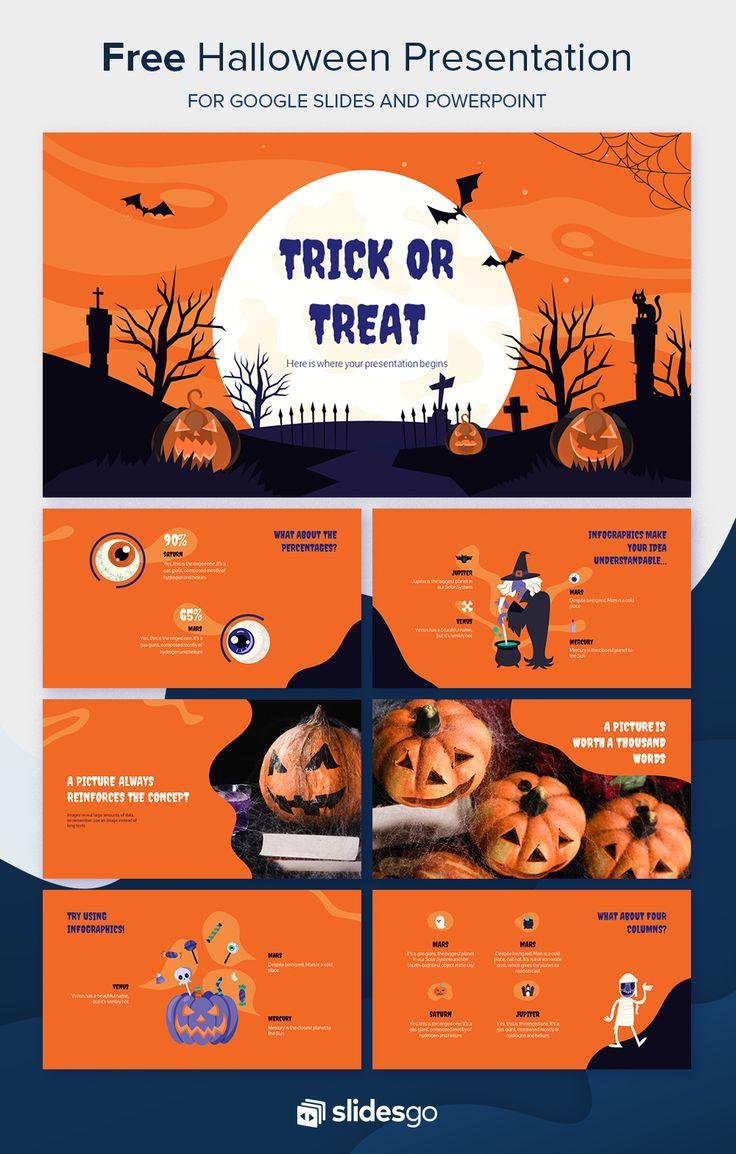 Halloween Presentation Free Google Slides theme and