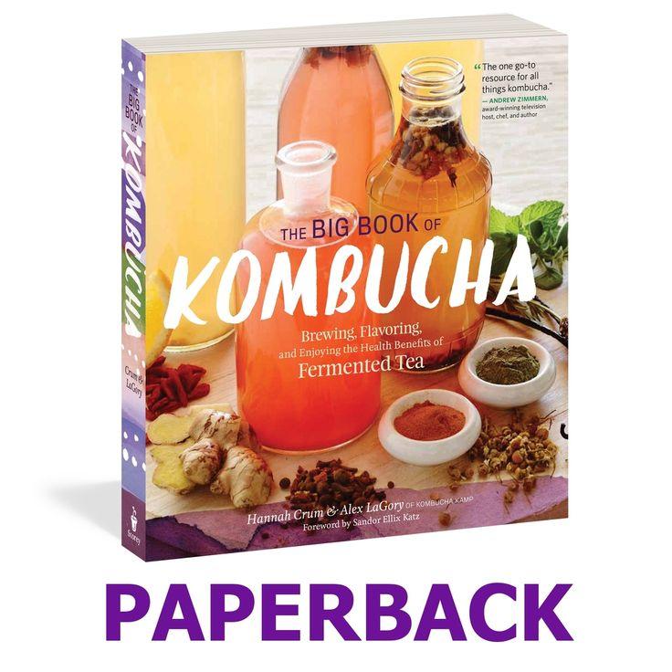Kombucha Books, Videos and Support from Kombucha Kamp