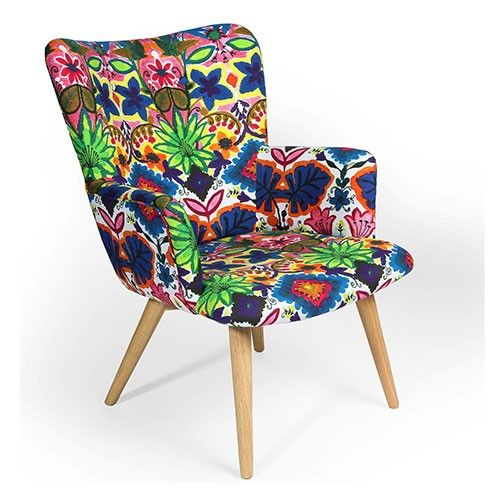 Coco Palms - Upholstered Arm Chair - Multi