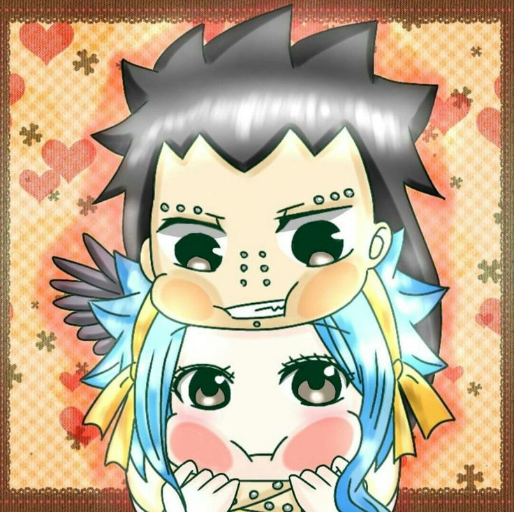 Gajeel + Levy = GaLe Fairy Tail