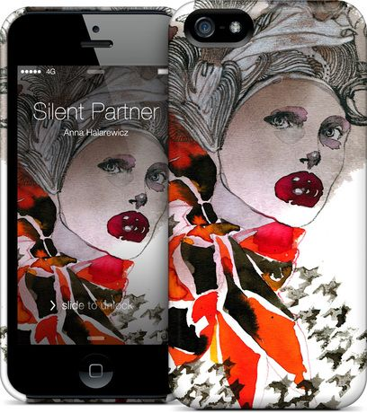 Silent Partner by Anna Halarewicz - #iPhone #HardCase #Skins