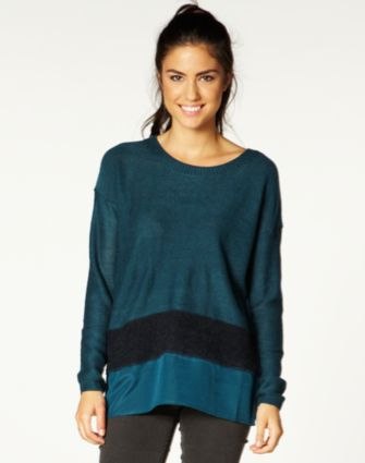 Hem Panel Knit Jumper WAS $49.99 NOW $28.00 http://richgurl.com/linkout/1271816