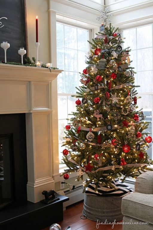 FindingHomeChristmasTree thumb Christmas Tree Decorating: How To Get the Look